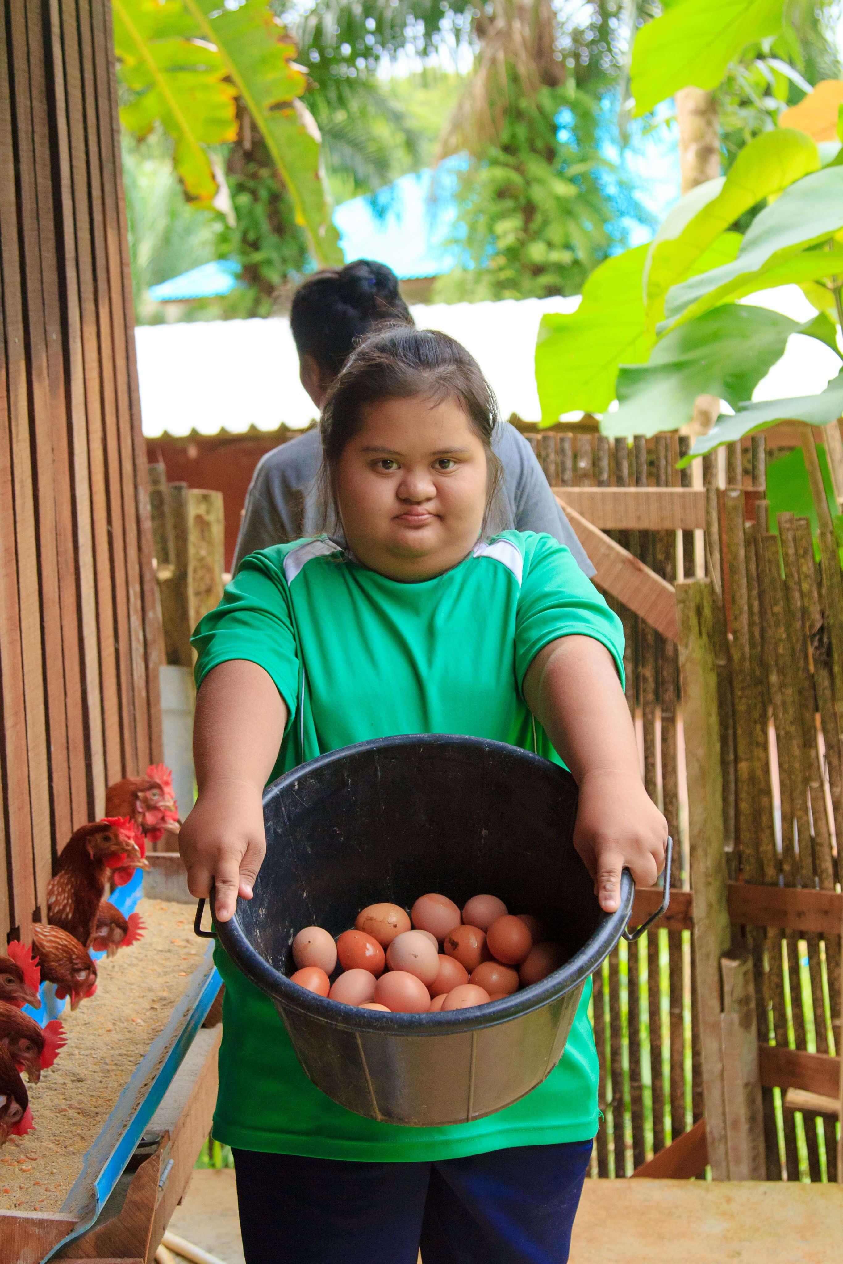 Nong Eef, student TCDF Special School