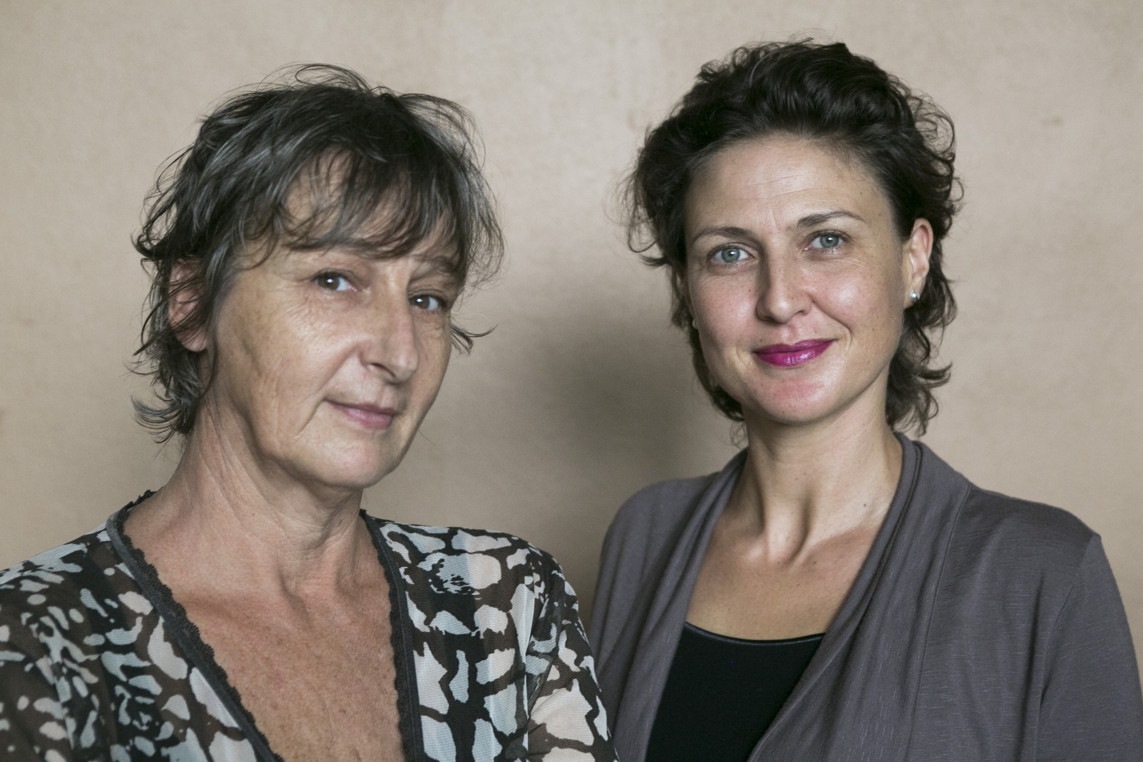 Ingrid and Roos: founders TCDF